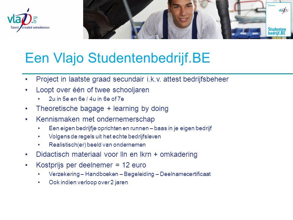 Een Vlajo Studentenbedrijf.BE