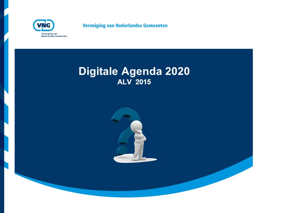 Digitale Agenda 2020 ALV 2015