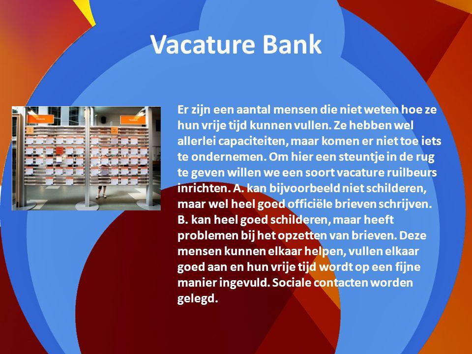 Vacature Bank