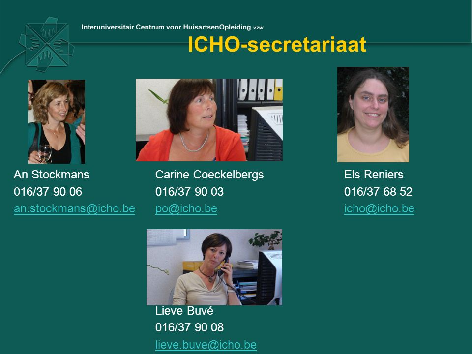 ICHO-secretariaat