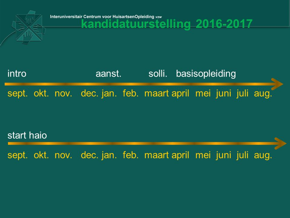 kandidatuurstelling 2016-2017