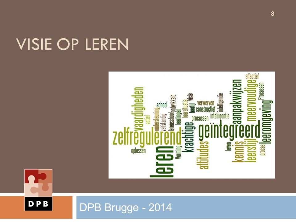 Visie op leren DPB Brugge - 2014