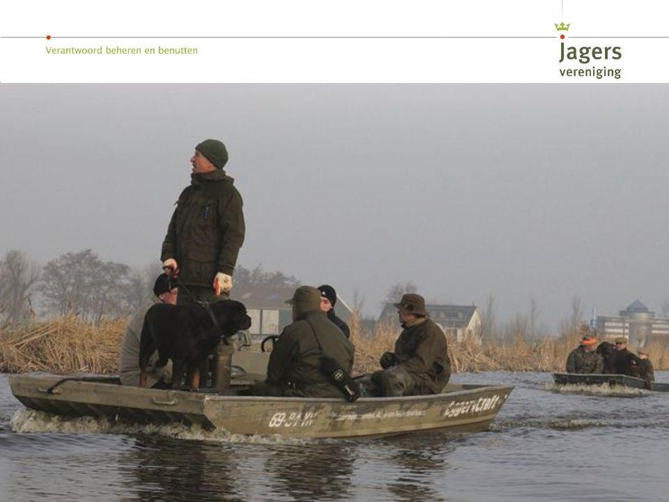 Om inzicht te krijgen de populaties tellen jagers jaarlijks op een gestandaardiseerde manier