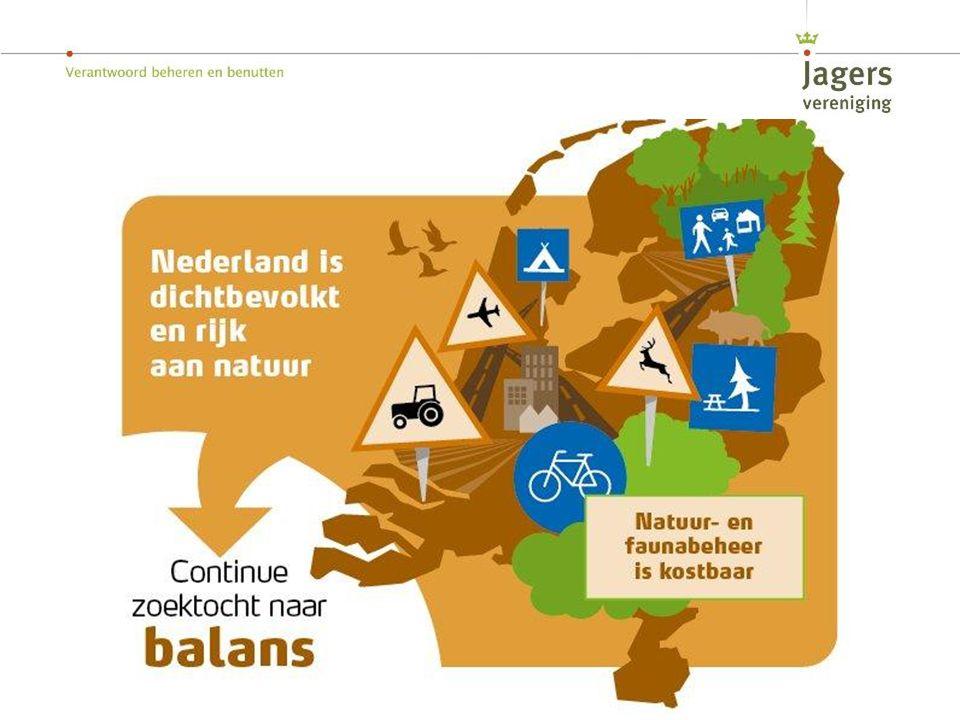 Jagers oogsten waar overvloed van is, de Nederlandse natuur is dermate rijk dat Nederland een geweldig land is om te jagen