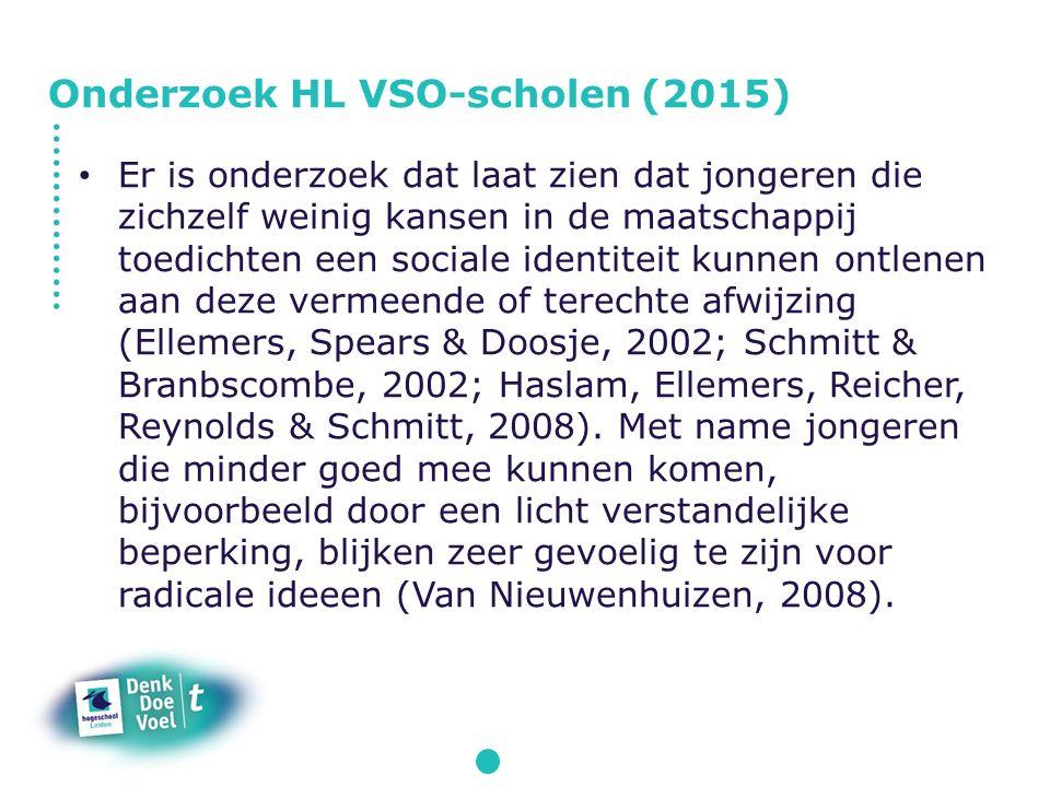 Onderzoek HL VSO-scholen (2015)