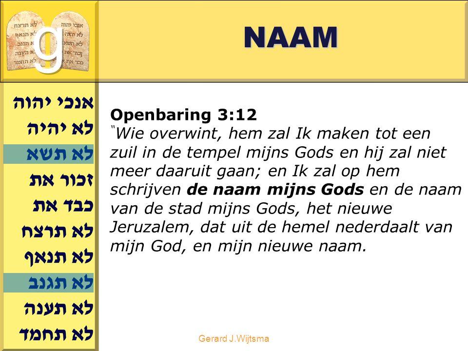 NAAM g. Openbaring 3:12
