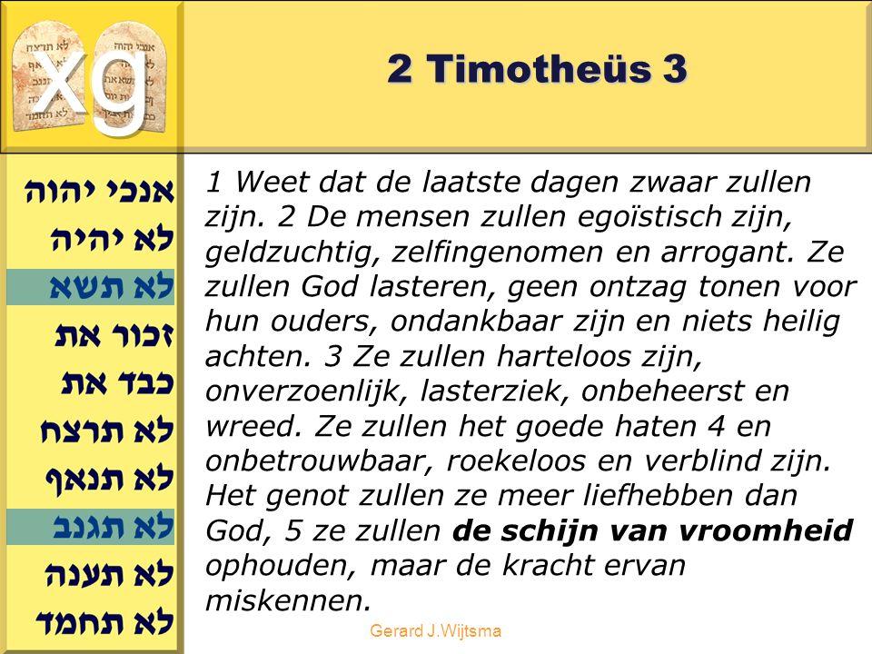 xg 2 Timotheüs 3.