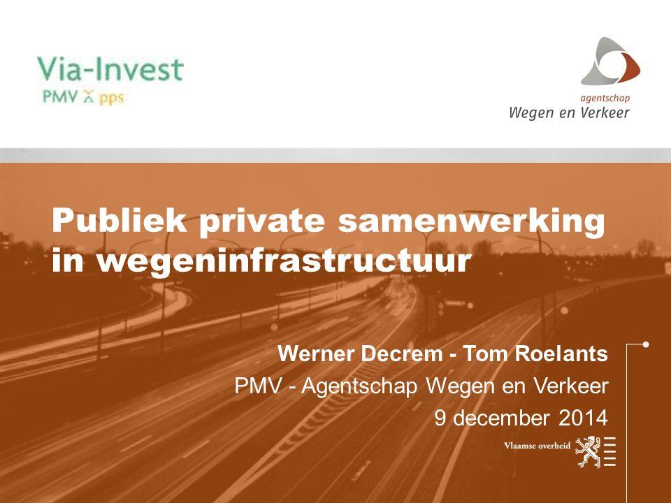 Publiek private samenwerking in wegeninfrastructuur