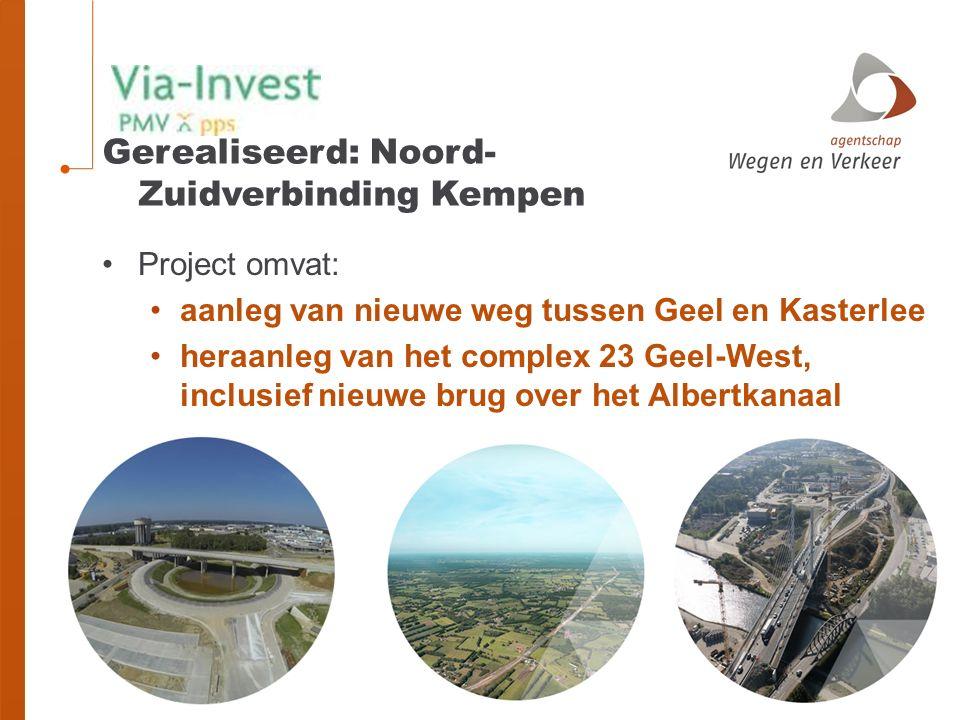 Gerealiseerd: Noord-Zuidverbinding Kempen