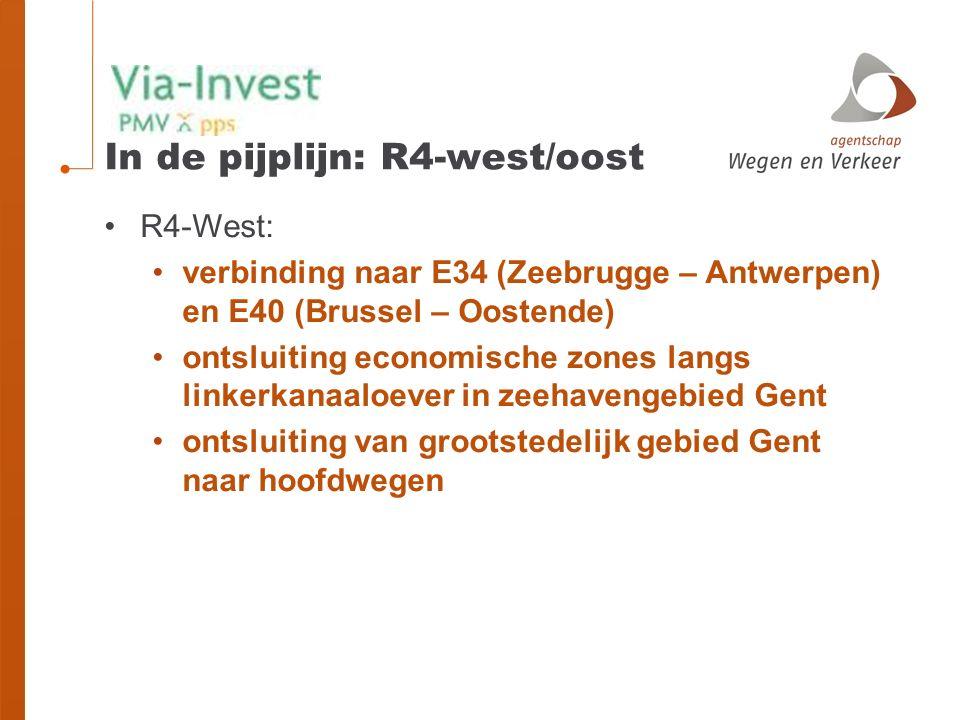 In de pijplijn: R4-west/oost
