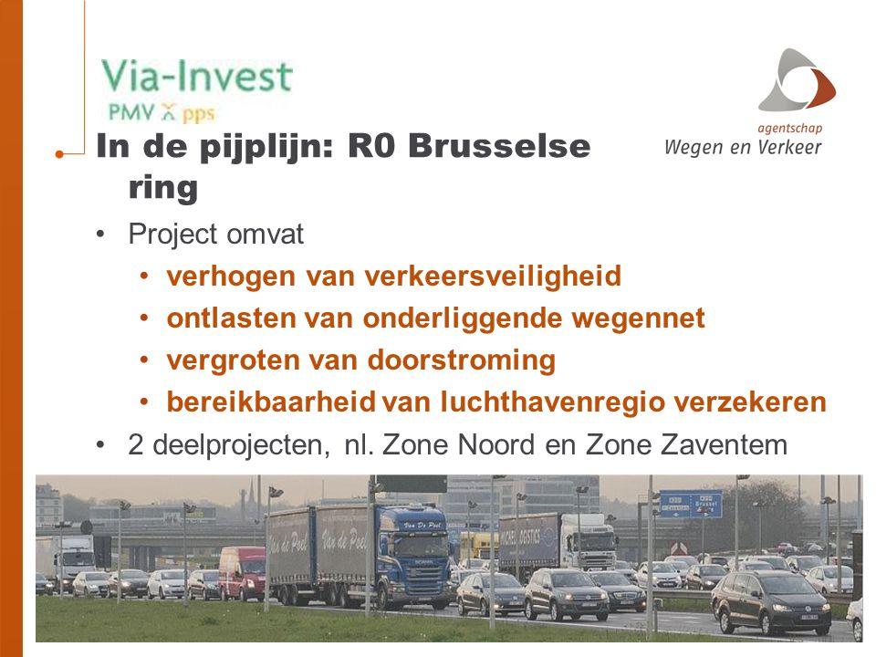 In de pijplijn: R0 Brusselse ring