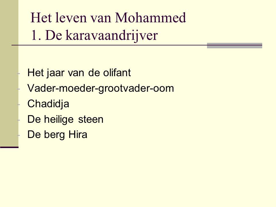 Het leven van Mohammed 1. De karavaandrijver