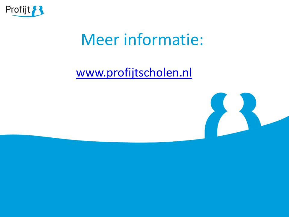 Meer informatie: www.profijtscholen.nl