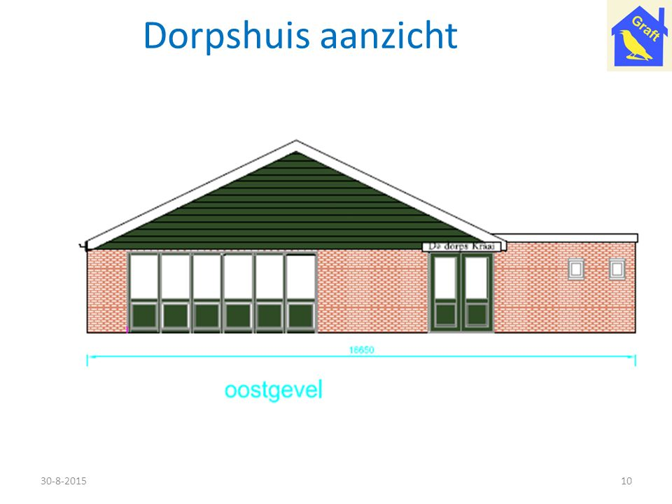 Dorpshuis aanzicht 21-4-2017
