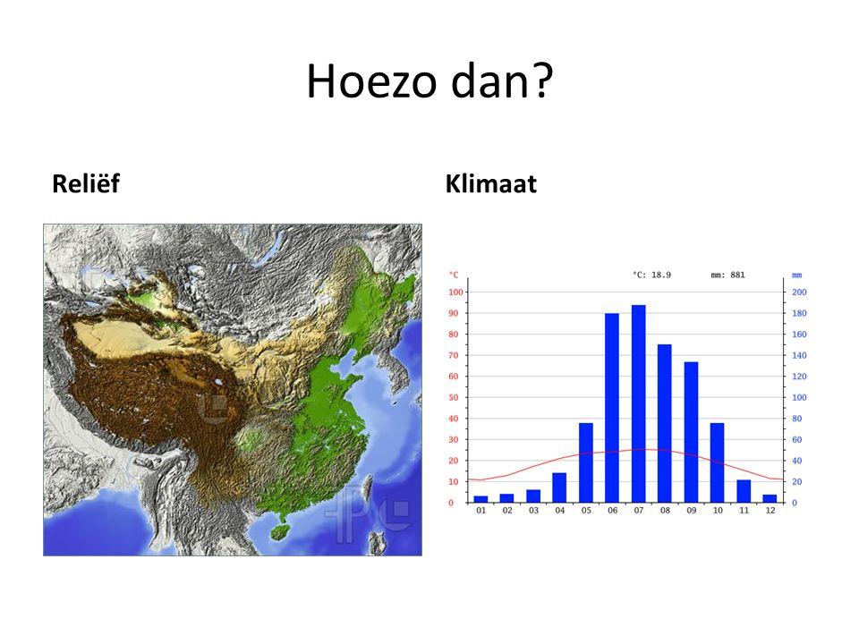 Hoezo dan Reliëf Klimaat