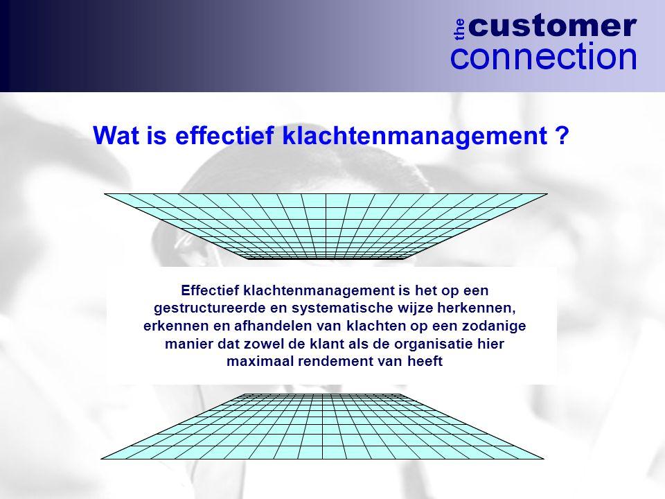 Wat is effectief klachtenmanagement