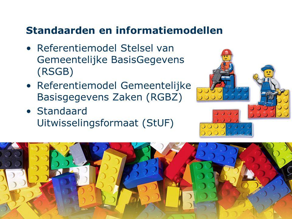 Standaarden en informatiemodellen
