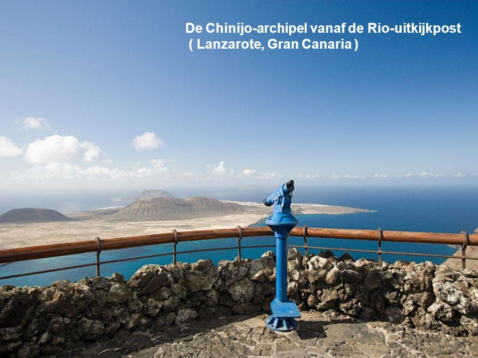 De Chinijo-archipel vanaf de Rio-uitkijkpost