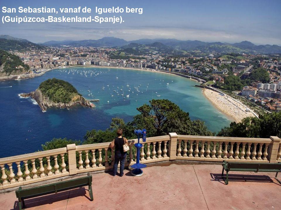 San Sebastian, vanaf de Igueldo berg