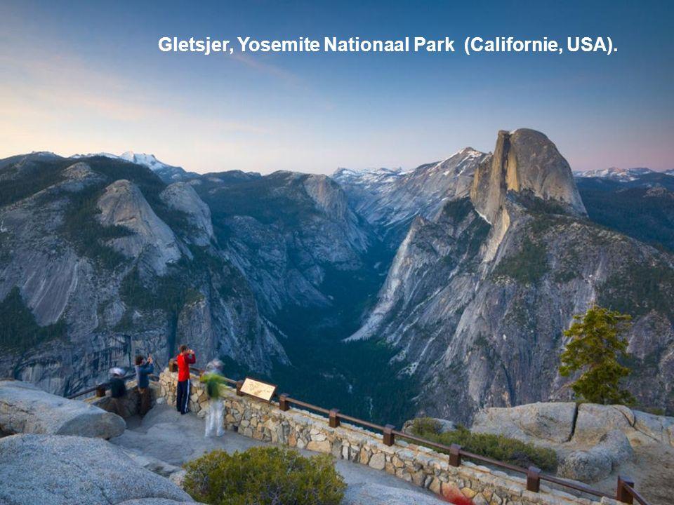 Gletsjer, Yosemite Nationaal Park (Californie, USA).