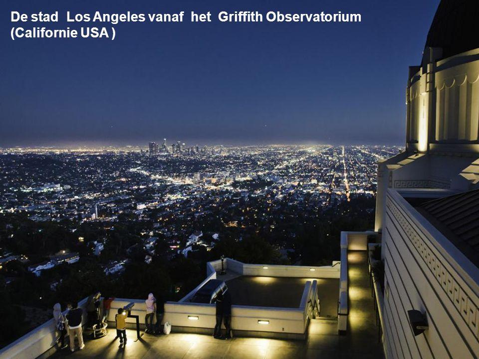 De stad Los Angeles vanaf het Griffith Observatorium
