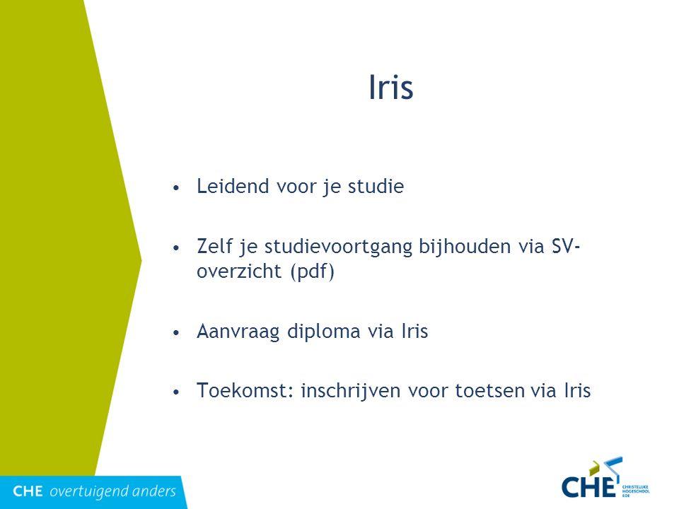 Iris Leidend voor je studie