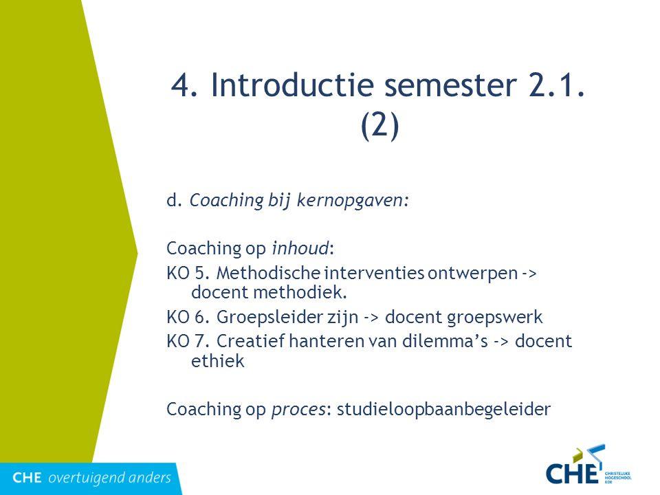 4. Introductie semester 2.1. (2)
