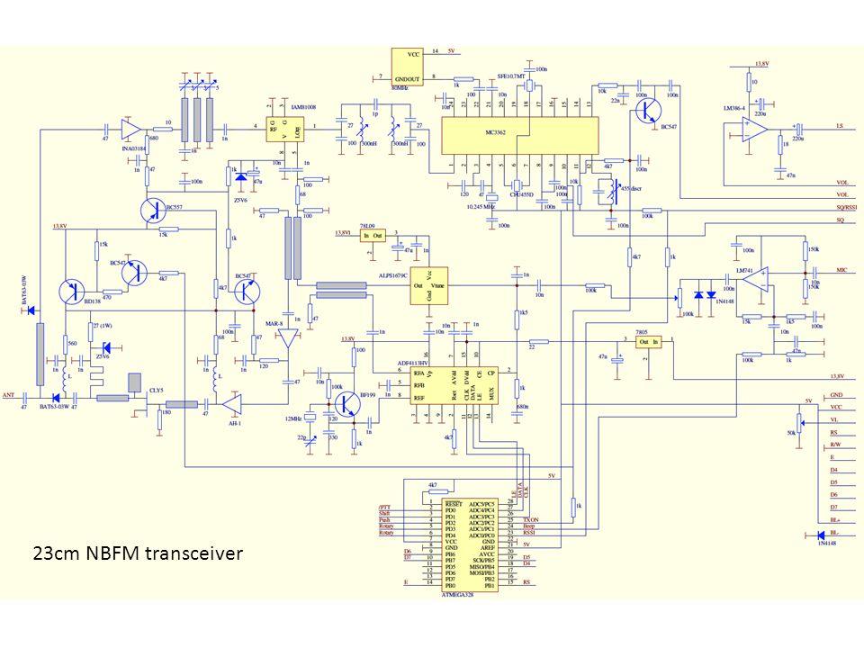 23cm NBFM transceiver
