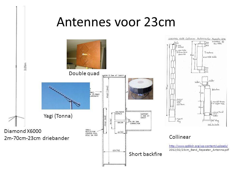Antennes voor 23cm Double quad Yagi (Tonna) Diamond X6000