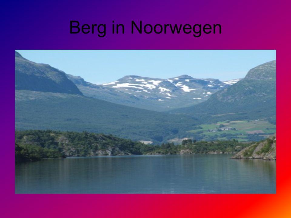 Berg in Noorwegen