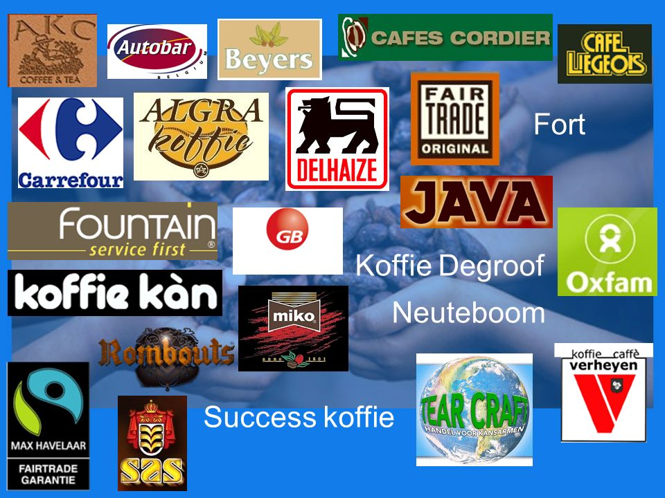 Fort Koffie Degroof Neuteboom Success koffie