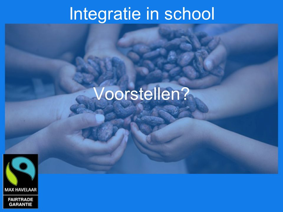 Integratie in school Voorstellen