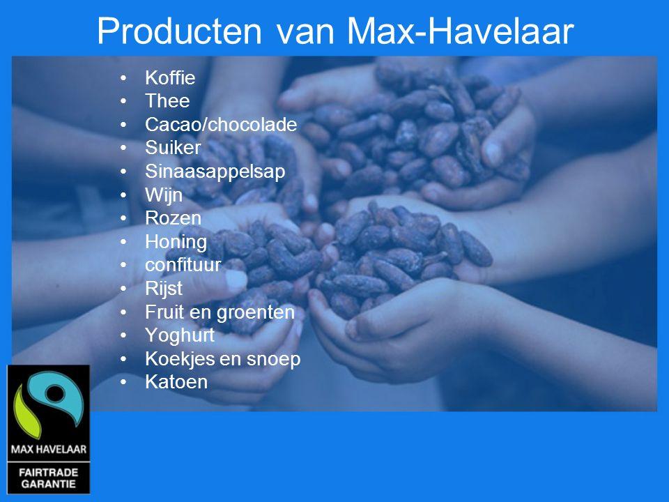 Producten van Max-Havelaar