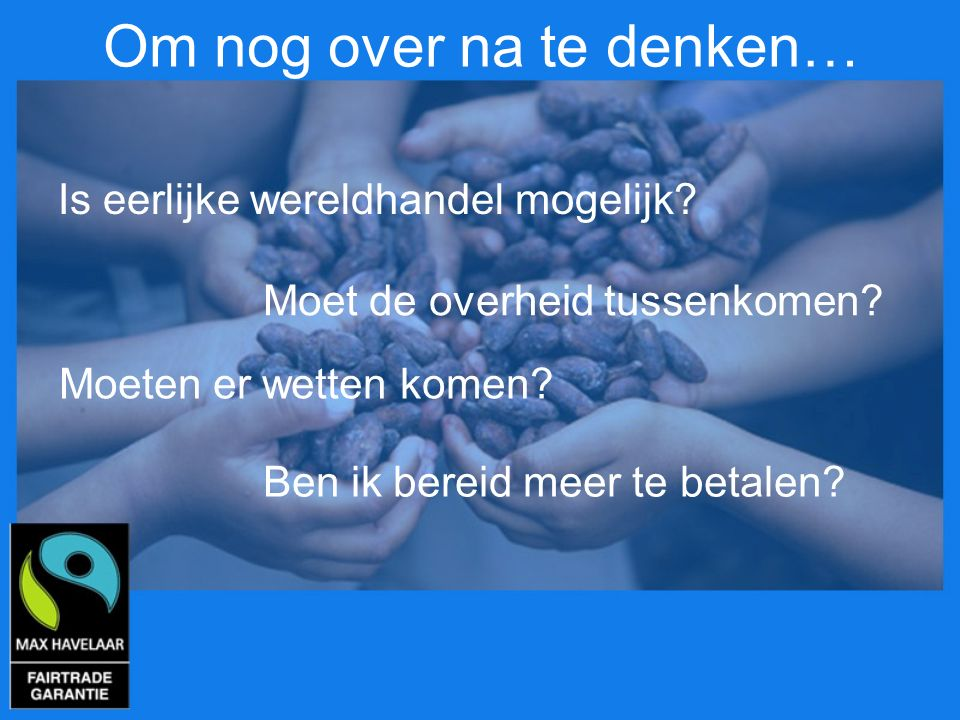 Om nog over na te denken…
