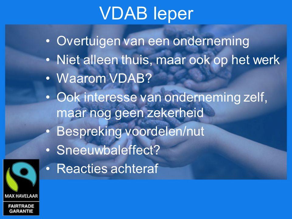VDAB Ieper Overtuigen van een onderneming