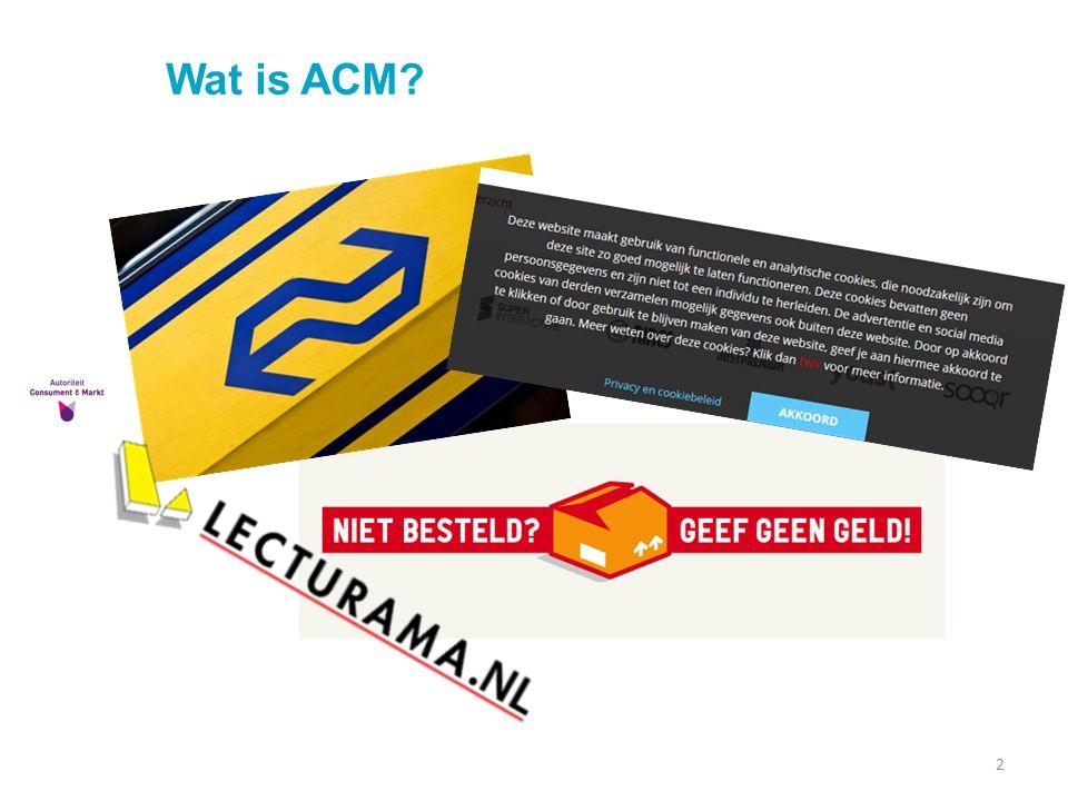 Wat is ACM