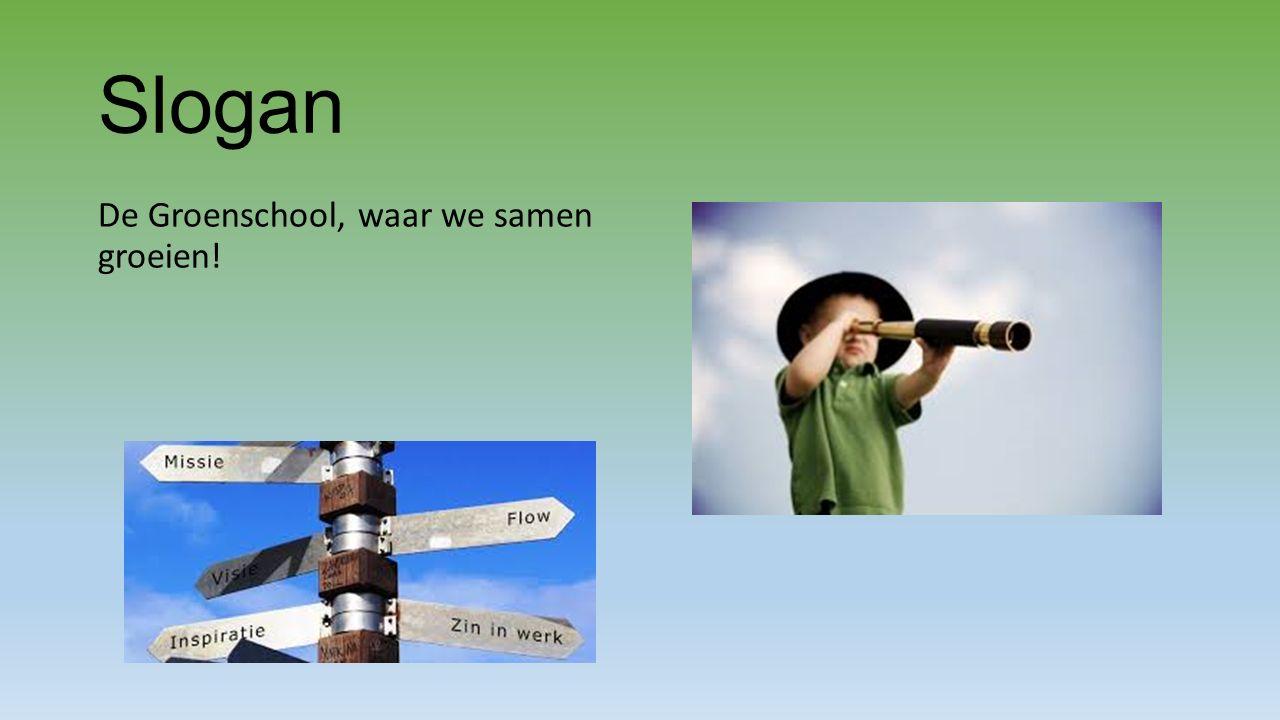 Slogan De Groenschool, waar we samen groeien!