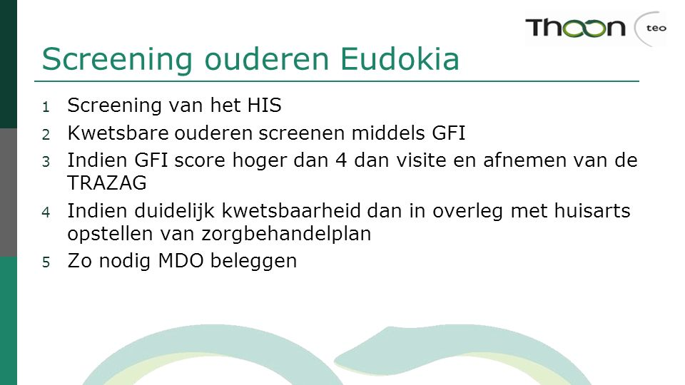 Screening ouderen Eudokia