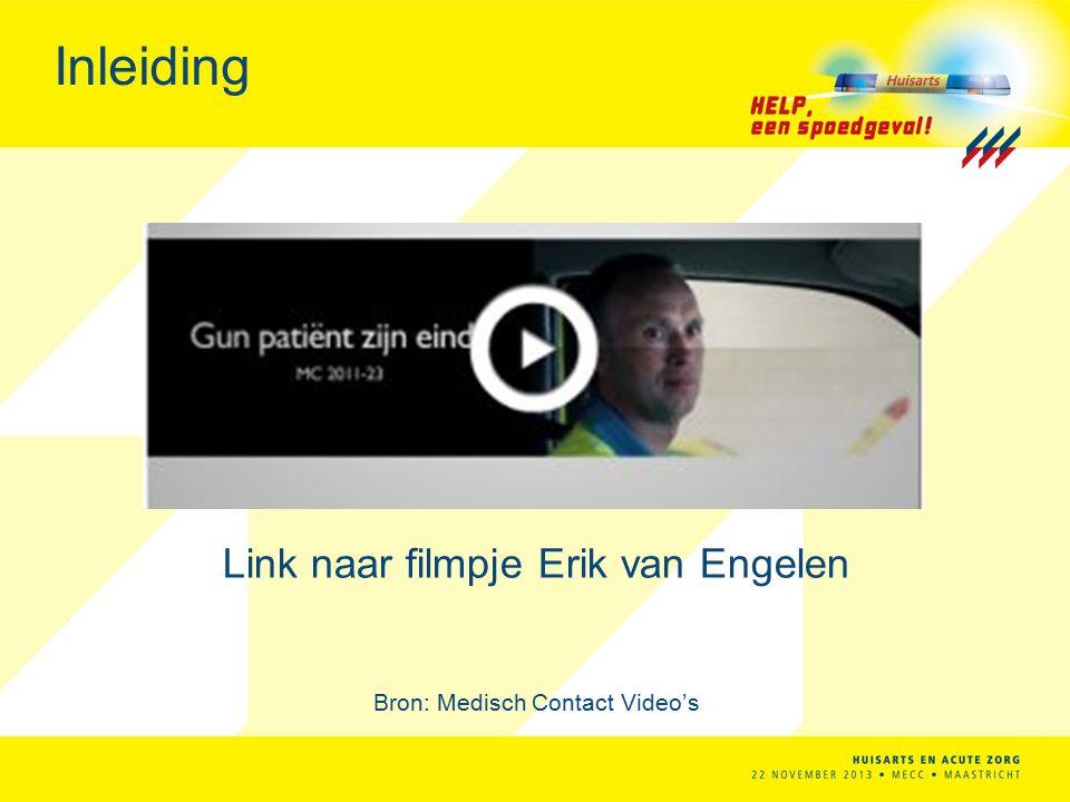Inleiding Link naar filmpje Erik van Engelen