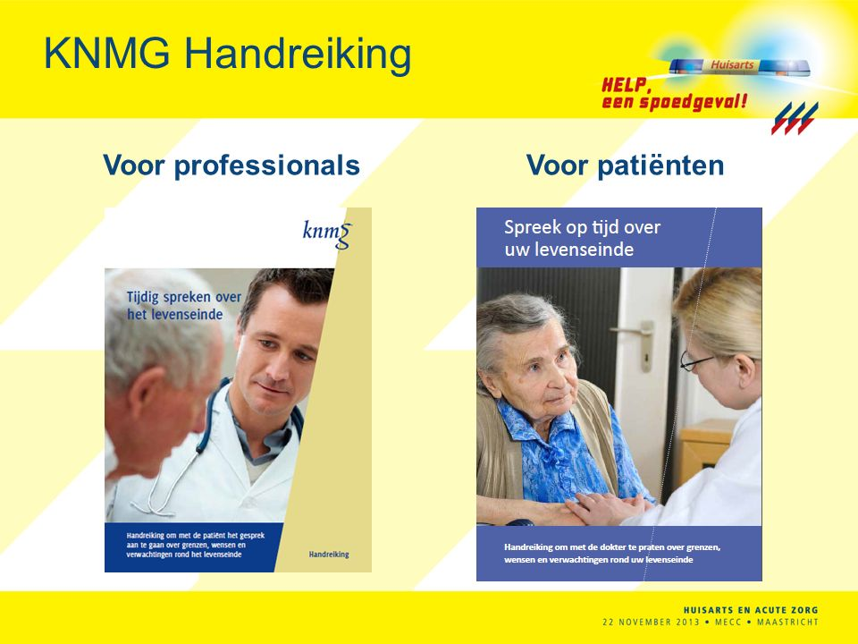 KNMG Handreiking Voor professionals Voor patiënten
