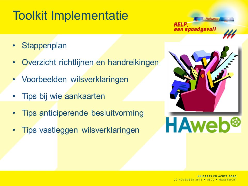 Toolkit Implementatie