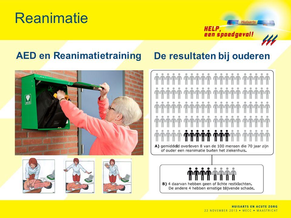 AED en Reanimatietraining De resultaten bij ouderen