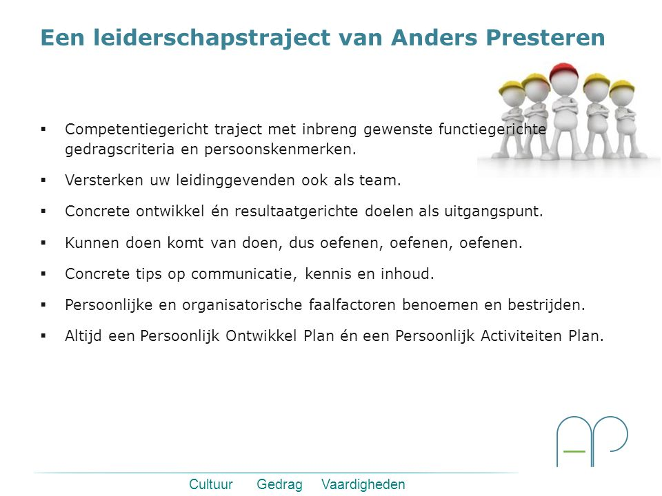 Een leiderschapstraject van Anders Presteren