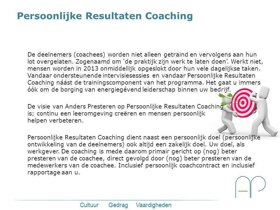 Persoonlijke Resultaten Coaching