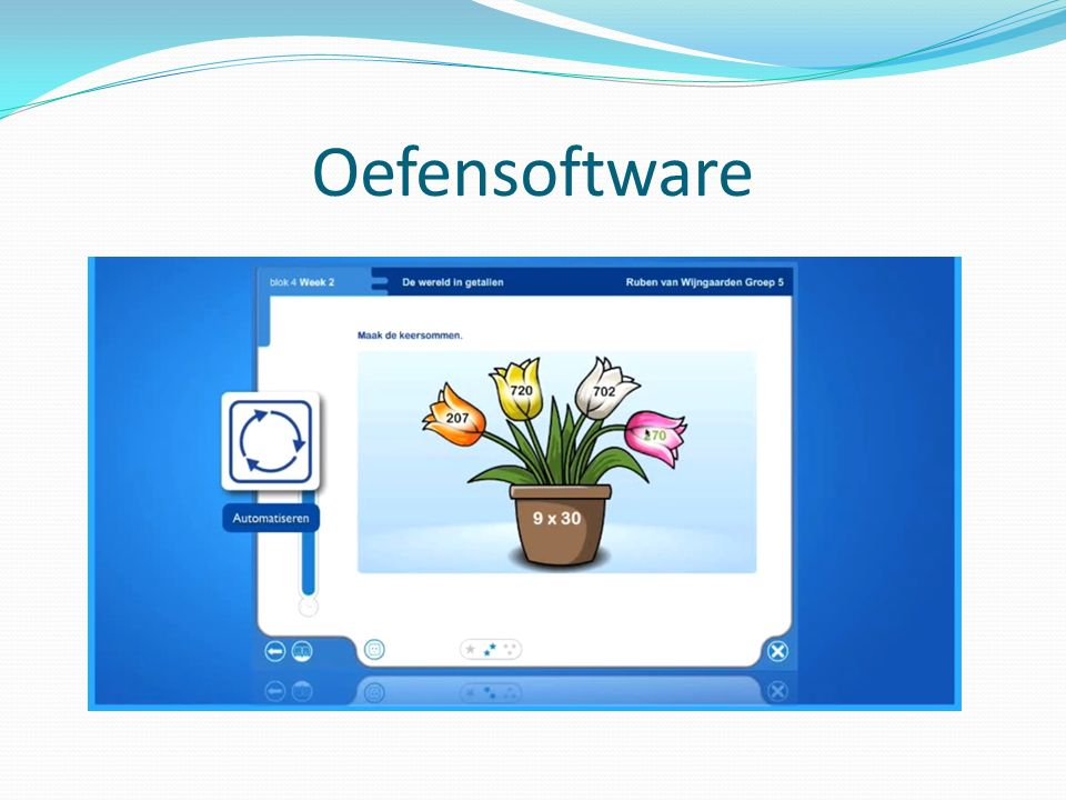 Oefensoftware