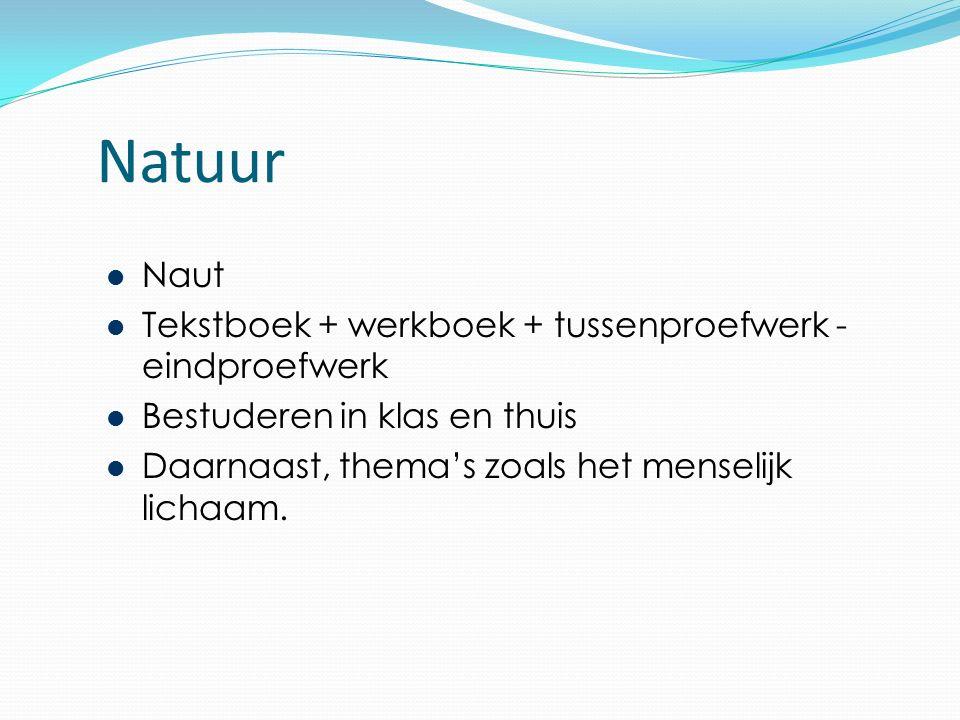 Natuur Naut Tekstboek + werkboek + tussenproefwerk - eindproefwerk