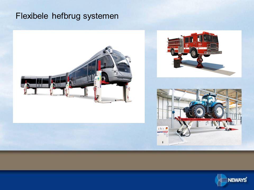 Flexibele hefbrug systemen