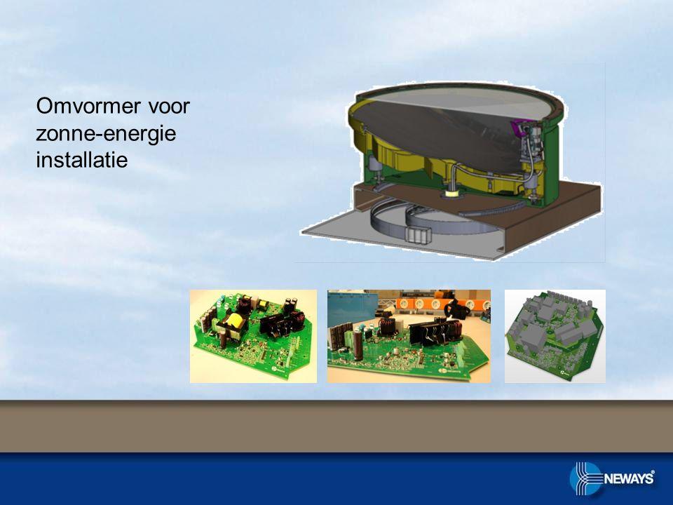 Omvormer voor zonne-energie installatie