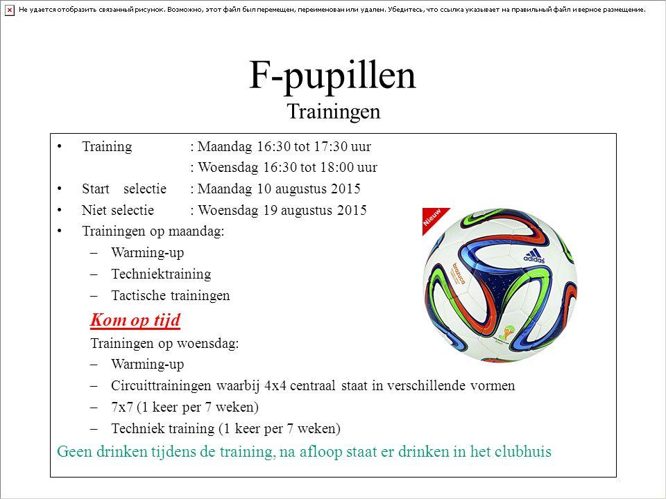 F-pupillen Trainingen