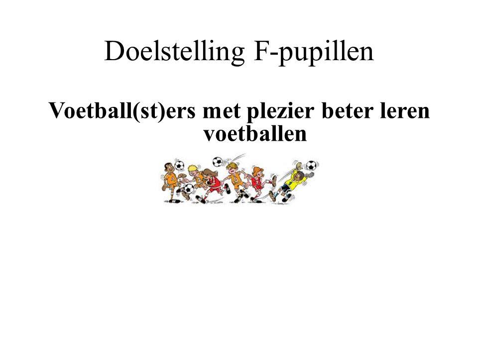 Doelstelling F-pupillen